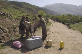 Maternal and Neo-natal Tetanus (MNT) vaccination - North Eastern Afghanistan - 2004