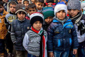 Support for education in Eastern Mosul - Iraq - 2017