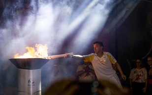 Olympic torch relay - Brazil - 2016