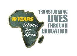 Schools for Africa 10th anniversary logo .AI