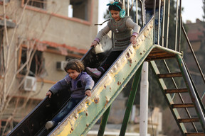 Children at play in the Syrian Arab Republic - 2017