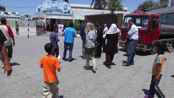 12305 Palestine Gaza Conflict School Visit BROLL SELECTS HD PAL