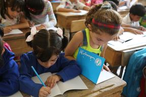 Back to Learning campaign in the Syrian Arab Republic – 2015