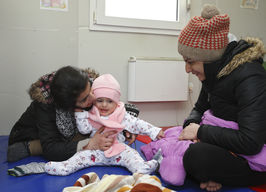 Winter conditions for refugees and migrants in Serbia - 2016