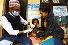 Measles vaccination campaign in earthquake-affected Nepal – 2015
