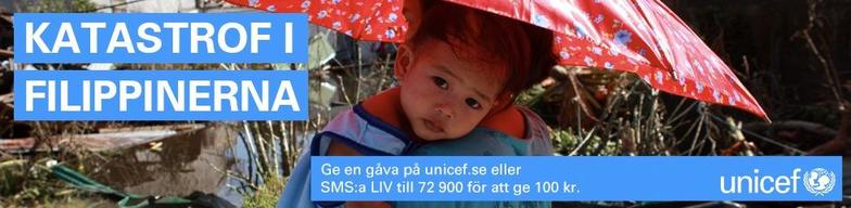 Typhoon Haiyan: Swedish NatCom - social media banner - 980x240
