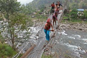 Support for earthquake-affected in Gorkha - Nepal - 2015