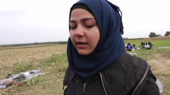 12962 Serbia Syrian teenage girl Interview HD PAL