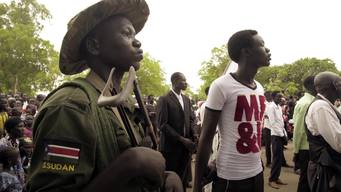 13112 S Sudan child soldiers INT HD NTSC SOCIAL