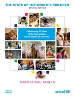 The State of the World's Children: Special Edition (2009), CRC Statistical Tables, Lo-Res PDF (English)