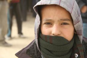 Photos: Winter supplies for Syrian refugees in Jordan