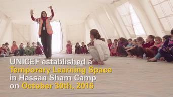 Iraq - Learning space for children displaced from Mosul - MIX