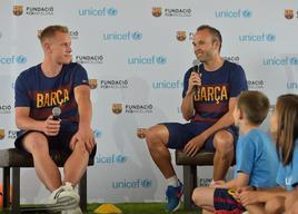 FC Barcelona and UNICEF discuss the importance of sports and play for children