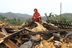 Support for earthquake recovery in Dhading, Nepal – 2015