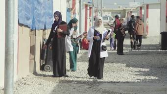 Iraq - Healthy start for babies born in displacement camps in Iraq - BROLL