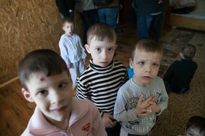 Support for children with disabilities in Ukraine - 2015