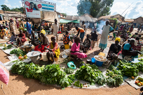 Escalating food costs in Aweil - South Sudan - 2016