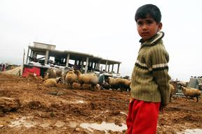 Photos: More Hardship for Syrian Refugee Children in Lebanon as Winter Approaches