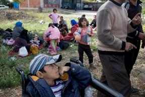 Refugees and migrants in Serbia - 2015