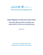 Migration Trends in West and Central Africa