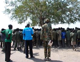 Demobilization of children from armed groups